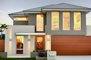 Narrow lot homes perth double storey builders renowned for 10m frontage home designs