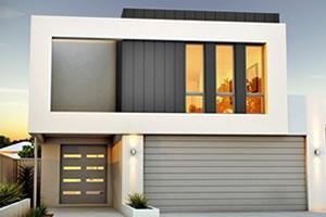 Narrow lot homes perth double storey builders renowned for 9m narrow block house designs