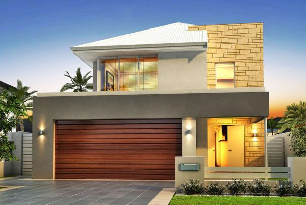 Narrow lot houses perth 10m designs renowned for 10m frontage home designs brisbane