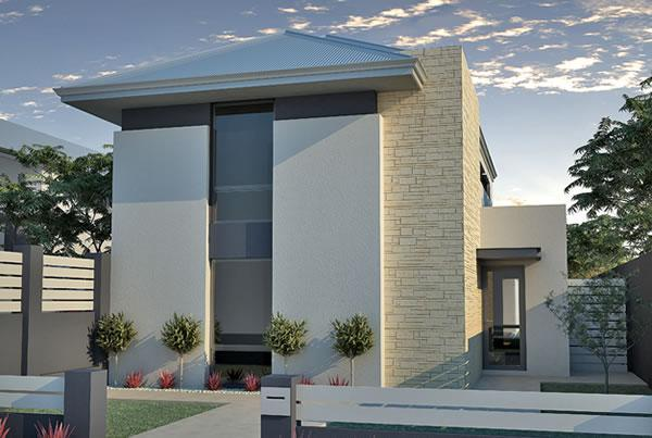 Narrow lot houses perth 10m designs renowned for Narrow lot home builders perth