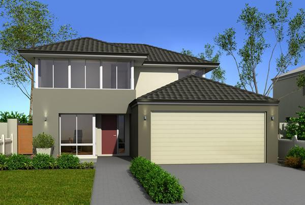 Perth narrow lot homes 12m designs renowned for Narrow lot home builders perth