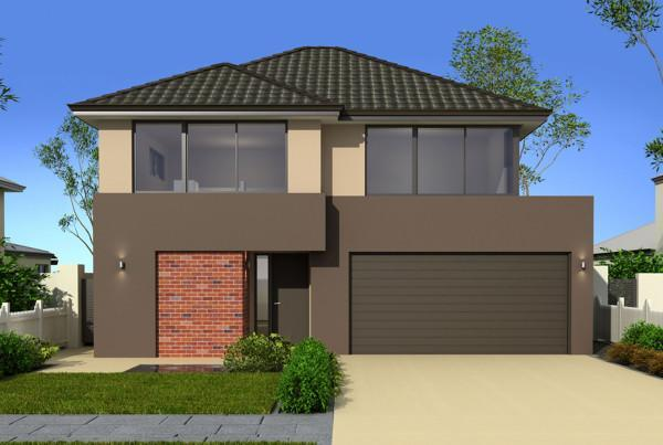 Perth narrow lot homes 12m designs renowned for Hudson home designs