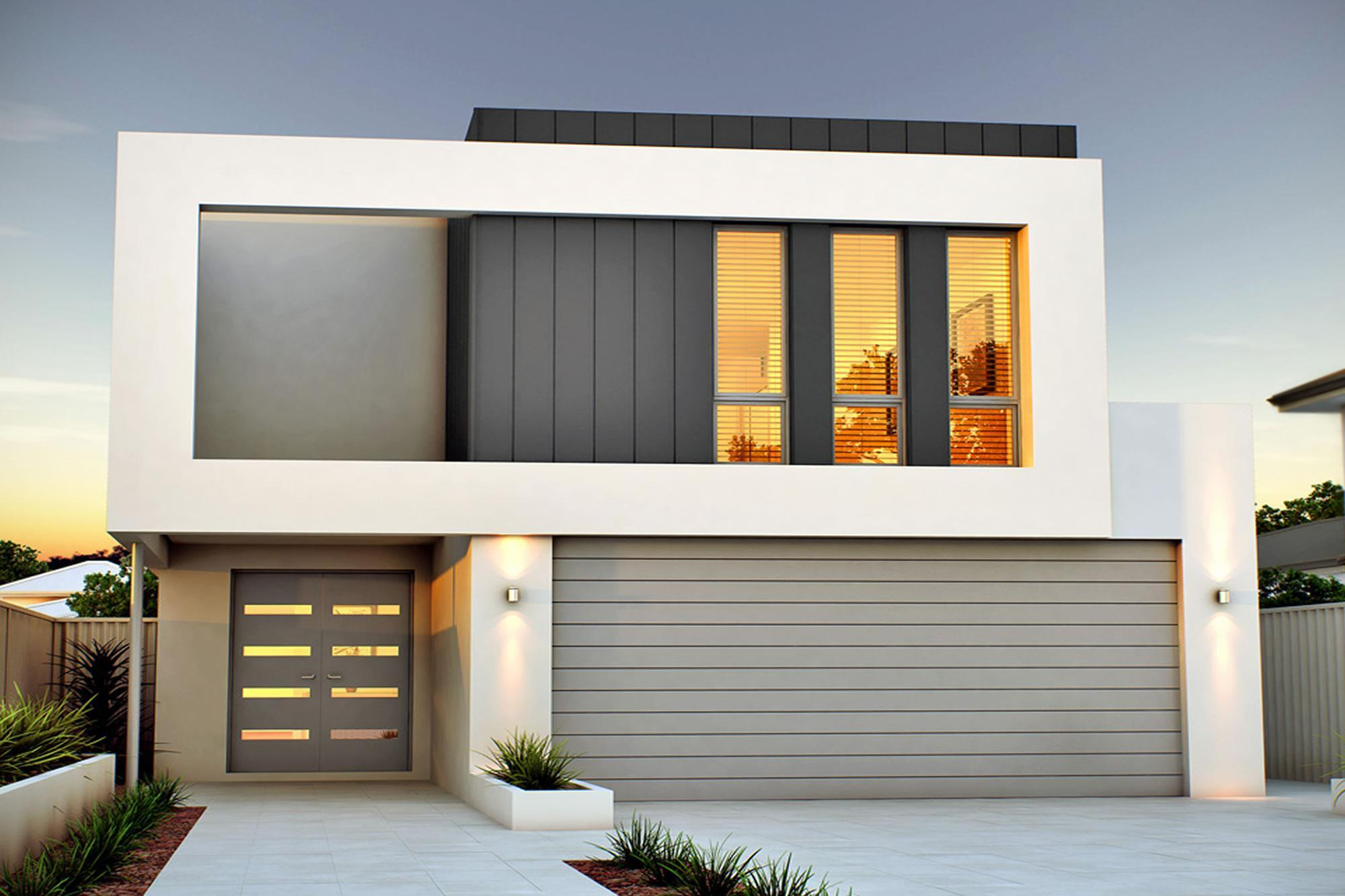 How to get the most out of a narrow lot renowned homes for Narrow lot home builders perth